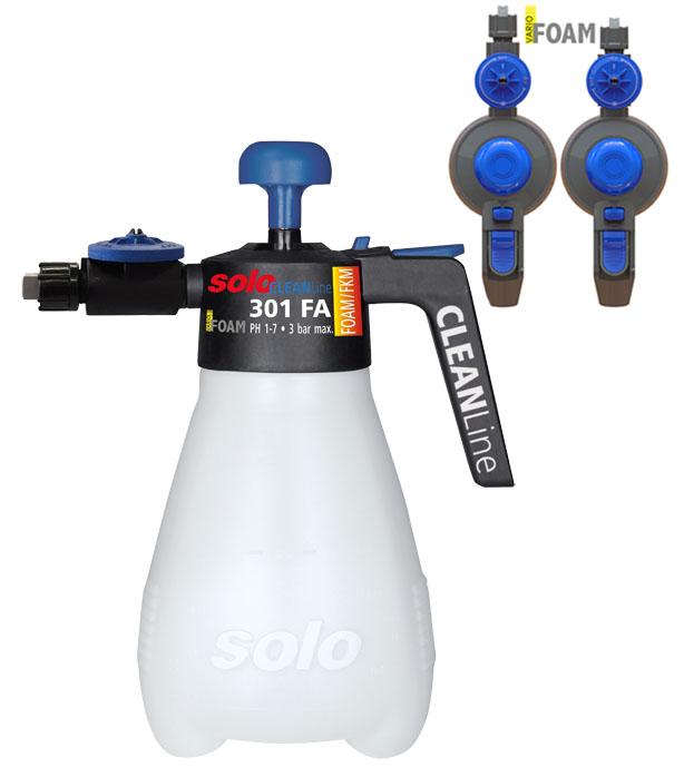 Pěnící postřikovač SOLO 301FA Foamer FKM ,Viton 1,5l